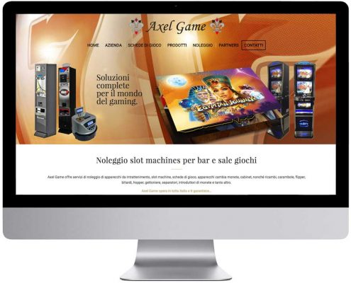 nuovo sito web axelgame