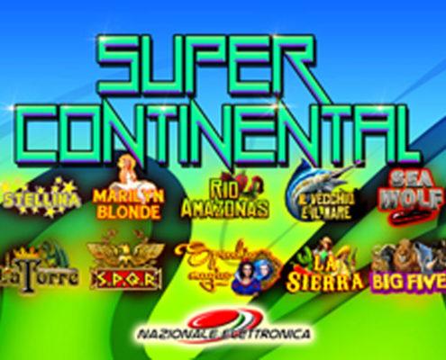 Super continental nazionale elettronica